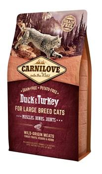 CarniLove - Сухой корм для взрослых кошек (утка и фазан) Adult Hairball Control Duck & Pheasant - фото 16709