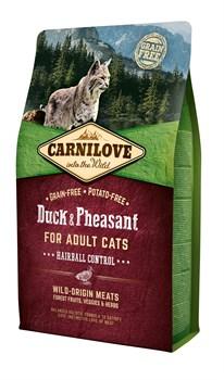 CarniLove - Сухой корм для кошек крупных пород (утка и индейка) Large Breed Duck & Turkey - фото 16710