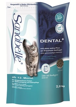 Sanabelle - Сухой корм для взрослых кошек Dental - фото 16815