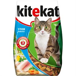 """Kitekat - Сухой для кошек """"Улов рыбака"""" - фото 16835"""