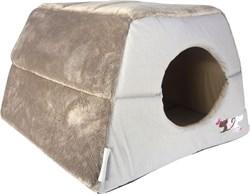 "Rogz - Мягкий домик-трансформер ""Влюбленные котики"" (41х41х30см) CATZ IGLOO - фото 16867"
