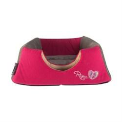"Rogz - Мягкий домик-трансформер ""Розовые леденцы"" (41х41х30см) CATZ IGLOO - фото 16868"
