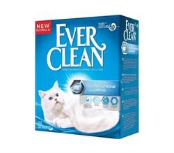 Ever Clean - Наполнитель комкующийся для кошек (без аромата, синяя полоса) Extra Strong Unscented - фото 16884