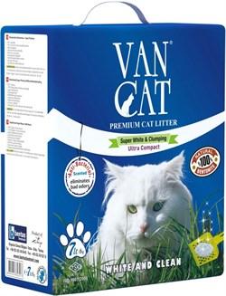 Van Cat - Наполнитель комкующийся для кошек (с антибактериальным эффектом) Antibacterial - фото 16886