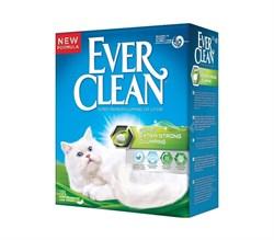 Ever Clean - Наполнитель комкующийся для кошек (с ароматизатором, зеленая полоса) Extra Strong Scented - фото 16899