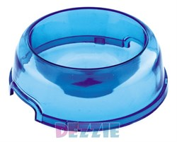 Dezzie - Миска для кошек, прозрачная, 300 мл, 15 см, пластик (цвет в ассотрименте) - фото 16969