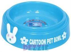 """Dezzie - Миска для кошек """"Друзья"""", 225 мл, 15 см, пластик (цвет в ассортименте) - фото 16976"""