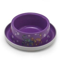 Moderna - Нескользящая миска с защитой от муравьев Trendy - Друзья навсегда, фиолетовая, 350 мл - фото 17021