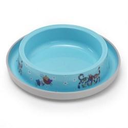 Moderna - Нескользящая миска с защитой от муравьев Trendy - Друзья навсегда, голубая, 210 мл - фото 17036