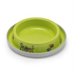 Moderna - Нескользящая миска с защитой от муравьев Trendy - Друзья навсегда, салатовая, 210 мл - фото 17040