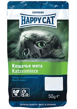 Happy Cat - Лакомые подушечки с кошачьей мятой - фото 17092