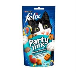 Purina Felix - Лакомство для кошек (с лососем, треской и форелью) Party Mix - фото 17099
