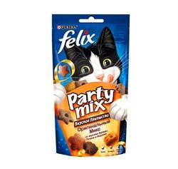 Purina Felix - Лакомство для кошек (с курицей, печенью и индейкой) Party Mix - фото 17100
