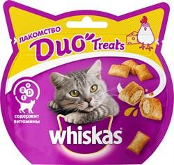 Whiskas - Лакомые подушечки (с курицей и сыром) Duo Treats - фото 17133