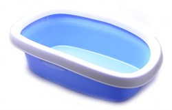 Stefanplast - Туалет Sprint-20 с рамкой, голубой, 39*58*17 - фото 17154
