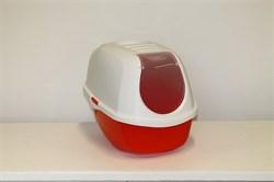 Moderna - Туалет-домик SmartCat с угольным фильтром, 54х40х41см, оранжевый - фото 17161
