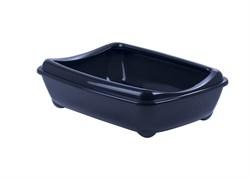 Moderna - Туалет-лоток средний с рамкой artist medium + rim, 42х30х12  королеский синий - фото 17171