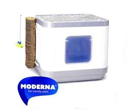 Moderna - Cat Concept 4 в 1 (туалет, лежанка, дразнилка, когтеточка) - фото 17172
