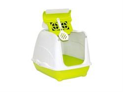 Moderna - Туалет-домик Flip с угольным фильтром, 50х39х37см, салатовый - фото 17174