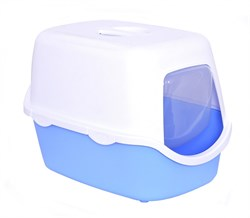 Stefanplast - Туалет закрытый Cathy, голубой, 56*40*40см - фото 17210