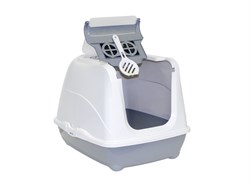 Moderna - Туалет-домик Jumbo с угольным фильтром, 57х44х41см, серый - фото 17217