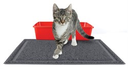 Kitty City - Коврик для туалета Medium Rubber Litter Mat, 40 x 50 x 0.7 см - фото 17223