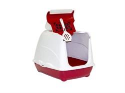Moderna - Туалет-домик Flip с угольным фильтром, 50х39х37см, розовый - фото 17251
