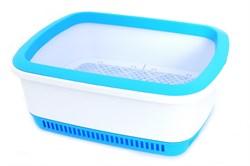 Canada Litter - Кошачий туалет с системой защиты от запаха CatEco (синий) - фото 17261