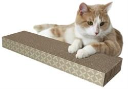 Kitty City - Когтеточка доска малая, 4*13*46 см Small corrugate scratcher, 4*13*46 см - фото 17309