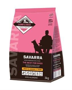 SAVARRA - Сухой корм для взрослых собак (ягненок с рисом) Adult Dog Lamb & Rice - фото 17362