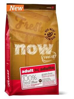 NOW Natural Holistic - Сухой корм беззерновой для взрослых собак (со свежим мясом ягненка и оленины) Grain Free Red Meat Adult Recipe - фото 17377