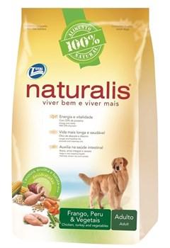Naturalis Total Alimentos - Для взрослых собак с индейкой, курицей, коричневым рисом и овощами Naturalis Adult Dogs Turkey, Chicken and Vegetables - фото 17471