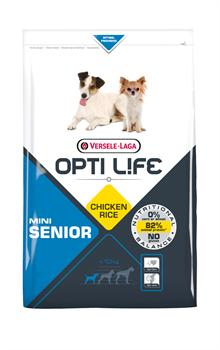 Opti Life (Versele-Laga) - Сухой корм для пожилых собак малых пород (с курицей) Senior Mini - фото 17736