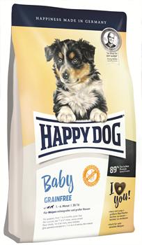 Happy Dog - Сухой беззерновой корм для щенков Baby Grainfree - фото 17798