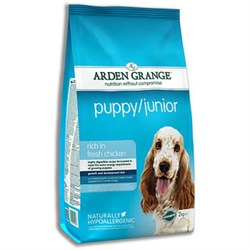 Arden Grange - Сухой корм для щенков и молодых собак Puppy and Junior - фото 17907
