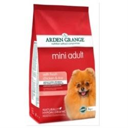 Arden Grange - Сухой корм для взрослых собак мелких пород (с курицей и рисом) Adult Dog Chicken & Rice Mini - фото 17917