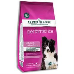 Arden Grange - Сухой корм для взрослых активных собак Adult Dog Performance - фото 17919