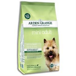 Arden Grange - Сухой корм для взрослых собак мелких пород (с ягненком и рисом) Adult Dog Lamb & Rice Mini - фото 17920