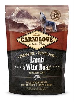 CarniLove - Сухой беззерновой корм для взрослых собак всех пород (с ягненком и диким кабаном) Adult Lamb & Wild Boar - фото 17928
