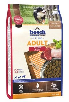 Bosch - Сухой корм для взрослых собак (с ягнёнком и рисом) Adult - фото 18127