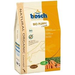 Bosch - Сухой органический корм для щенков Bio Puppy + Морковь - фото 18129