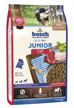 Bosch - Сухой корм для щенков (с ягнёнком и рисом) Junior - фото 18133