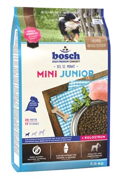 Bosch - Сухой корм для щенков мелких пород Mini Junior - фото 18141