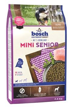 Bosch - Сухой корм для пожилых собак мелких пород Mini Senior - фото 18144