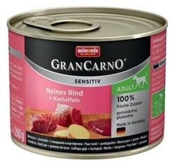 Animonda - Консервы для чувствительных собак (c говядиной и картофелем) GranCarno Sensitiv - фото 18344