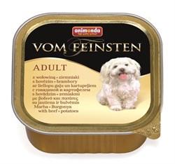 Animonda - Консервы для собак (с говядиной и картофелем) Vom Feinsten Adult - фото 18375