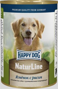 Happy Dog - Консервы для собак (с ягненком и рисом) - фото 18584