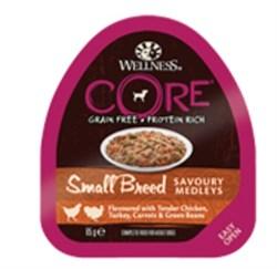 Wellness Core - Консервы для собак мелких пород (попурри из куриного филе с индейкой, морковью и зеленой фасолью) - фото 18662
