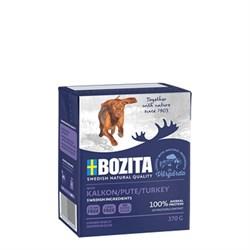 BOZITA - Консервы для собак (кусочки индейки в желе) Turkey - фото 18707
