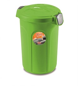 Stefanplast - Контейнер для хранения корма, 37х32х46см, 8кг (ярко зеленый) Container Jerry Apple Green - фото 18762